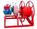 3600rpm Speed 5 Ton Power Puller Winch Wire Take Up With GX160 Gasoline Engine