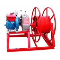 China 3600rpm Speed 5 Ton Power Puller Winch Wire Take Up With GX160 Gasoline Engine on sale