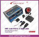 Auto sistema de alarme 898F do carro da Anti-extorsão da eletrônica dos auto acessórios de sistemas de alarmes