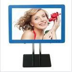Pantalla de visualización de la pulgada USB 2,0 LCD POP de la alta resolución 10 con el soporte del metal
