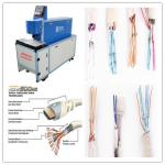 CO2 Laser Copper Wire Stripping Machine With Double Tube Double Light Road Design