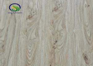 Fire Retardant Spc Vinyl Flooring Sheet Click Wood Look