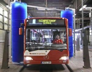 China Bus Wash Machine Tepo-auto on sale