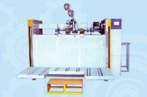 China Semi-auto high speed carton stapler machine on sale