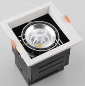 China led recessed downlight with MW power supply square led light on sale