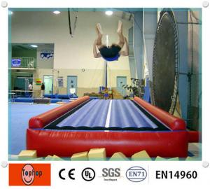 China Customized Inflatalbe Sports Games , Elastic Inflatable Race Track For Playground / Gymnastics Equipment on sale