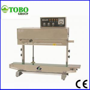 China Vertical Solid-Ink Coding Continuous Band Sealer FRM-980AII on sale