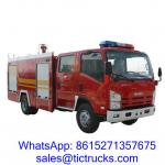 China 3100L 190HP Fire Fighting Vehicle 4x 2 ISUZU for sale wholesale