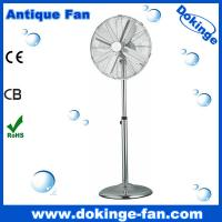China Pass Finger Testing China Factory 16 inch Antique Metal Fan on sale