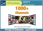 QHDTV IPTV 1 Year with 900+ channels Arabic Africa French UK Germany Italy Box office and VOD Channels included