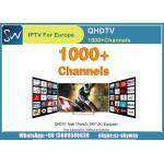 QHDTV IPTVは900+の1年含まれているアラビア アフリカ フランスのイギリス ドイツ イタリアの発券所およびVODチャネルを運びます