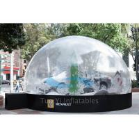 China Outdoor Giant Bubble Tent Night Car Cover / Inflatable Bubble Dome for Car Show on sale