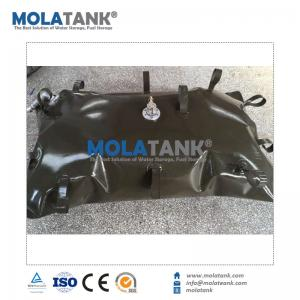 China Molatank 200L 1.2MM Green Amy TPU Fuel Bladder For Boat on sale