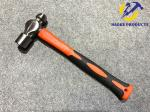 8OZ Size Forged Steel Ball peen Hammer With Polishing Surface And Colored Plastic Handle