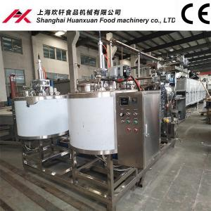 China 380V Electric Chocolate Candy Making Equipment 19400*1100*1800mm Dimension on sale