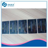 Gold Plastic Business Card Printing Hot Stamping Foil PVC Business Cards