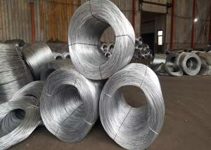 China Low Carbon Steel And High Carbon Steel , Hot - Dipped Galvanized Binding Wire 0.2mm-4mm on sale