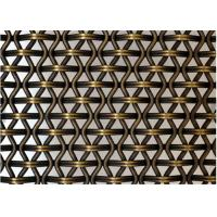 Mesh Rigid Stainless steel Architectural Wire Mesh For Decorative Wall Cladding