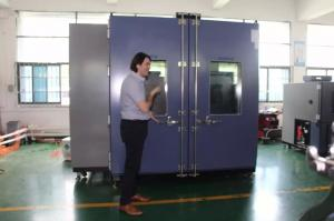 China Programmble temperature and humidity test cabinet with over temperature protection on sale