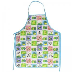 China 45*60 cm Cute Carton Printed 100% Cotton Bib Aprons Child Kitchen Aprons on sale