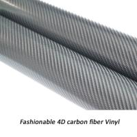 4D carbon fiber vinyl high quality factory price