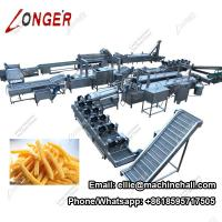 Automatic Frozen French Fries Making Machine With Factory Price with Stainless Steel Material