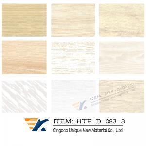 China WPC wall panel heat transfer film,Wood grain transfer foil, WPC transfer foil on sale