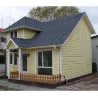 China SAA Earthquake Proof Steel Prefab House Kits With Garage , ETC Yellow Pre House on sale