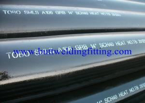 China ASTM A333 Cold Drawn Steel Tube Low Temperature Seamless Pipe ASTM B36.10 on sale