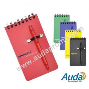 China Promotion spiral notepad with pen,spiral notebook with pen,note pad,note book on sale