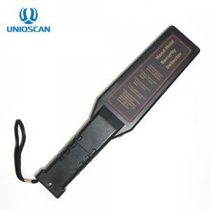 China Security Inspection Hand Held Metal Detector Waterproof IP31 Standard 9V Battery on sale