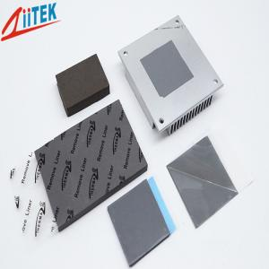 China Thermal Conductive pad high conductivity 3W 1mmT Silicone Free Gap Filler Pad 5.5 MHz –20 To 125 ℃ on sale