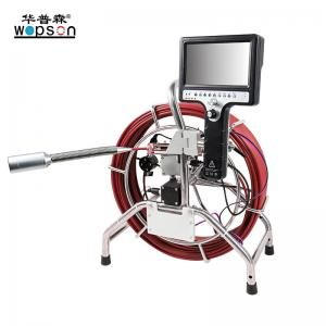 China eters Water well Drain Sewer Pipe Inspection Camera  with DVR video recording digital Pipeline Survey Pipe on sale