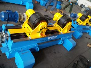 China Hydraulic Anti Axial Float Turning Rolls Welding 10 Ton Load Capacity on sale