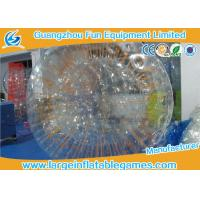 Clear TPU Snow Zorb Inflatable Ball , Giant Hamster Ball For Outdoor Activities