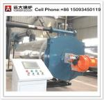High temperature Gas Oil Fired 700kw 1400 kw thermal oil boiler