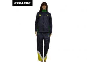China Womens Fleece Custom Sports TracksuitsWindprood Anti Pilling Long Wear Time on sale