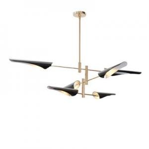 China Delightfull Coltrane Modern Ceiling Lights , Bird Wing Warm White Hanging Lights For Living Room on sale