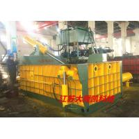 Push - Out Type Hydraulic Baling Machine For Steel Mills / Recycling Industry