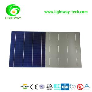 China wholesale A grade  4bb polycrystalline  pv silicon solar cell price made in Taiwan on sale