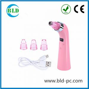 China 5 Operation models Portable Beauty Tool Vacuum Suction Facial Blackhead Remover on sale