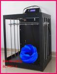Impressora do tamanho 3D do Desktop grande 45*45*60cm, impressora do protótipo 3D da precisão