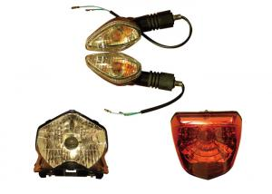 China Durable Motorcycle LED Tail Lights on sale