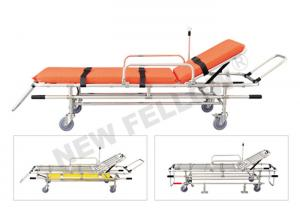 China Low Position Adjustable Emergency Rescue Ambulance Stretcher For Fire Scene on sale
