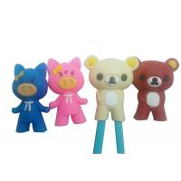 Cute Cartoon Animal Silicone Cooking Utensils , Chopsticks Holder Silicone Guide / Training Connector