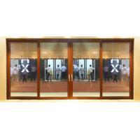Custom design water proof low threshold aluminum sliding glass doors for meeting room