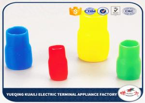 China V60 Vinyl Wire End Cap PVC Terminal Covers Electrical Cable End Cap on sale