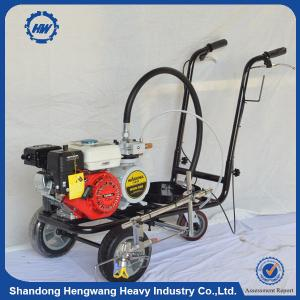 China Hand-push Cold Paint Road Marking Machine Single/Double Gun on sale