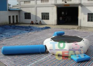China Commercial Inflatable Outdoor Games For Kids / Water Trampoline Combo Game on sale