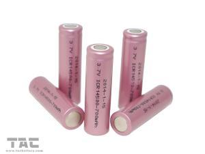 China AA Rechargeable Batteries 700mAh Lithium ion Cylindrical ICR14500 Cell on sale
